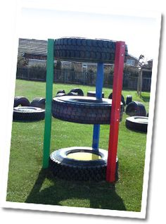 what a great alternative to high priced swing sets and jungle gyms!