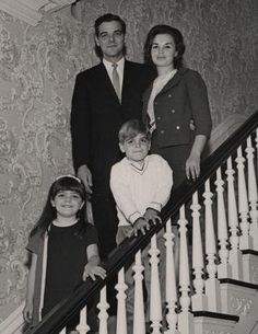 Clooney's family moved around a lot because of his father's broadcasting job. They left Lexington, Ky., for Columbus, Ohio, and then moved to Cincinnati, where his father's news career took off. The Clooneys later moved to Augusta, Ky., where George attended high school, and where his parents still live today. Here, the Clooney clan is pictured in 1966.