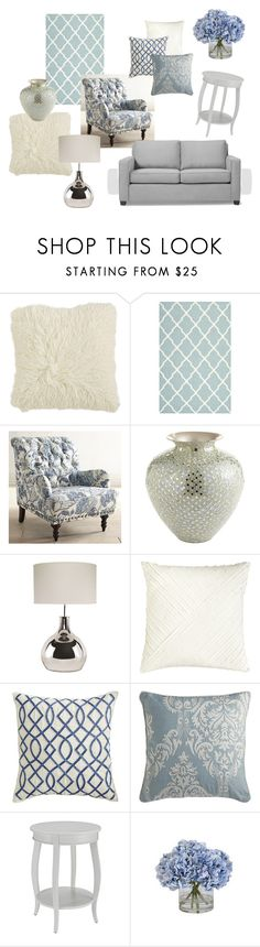 """Living Room Inspiration"" by leximeoww on Polyvore featuring interior, interiors, interior design, home, home decor, interior decorating, Pier 1 Imports, Safavieh, Home Decorators Collection and Ethan Allen"