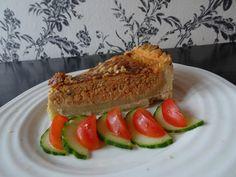 Smakfull krabbepai - Monicas ukeblogg Sushi, Ethnic Recipes, Wood