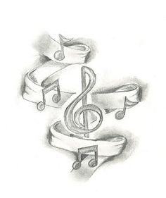music themed tattoos | Art Blog Music Themed Tattoos Guitar Musical Notes Tattoo