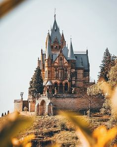 """6,918 Likes, 60 Comments - Germany Tourism (@germanytourism) on Instagram: """"Up on the #Drachenfels hill there is the so called #Drachenburg - the Castle of the Dragons…"""""""