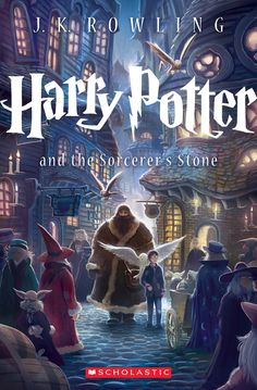 A New Look for Harry Potter and I love it!