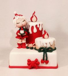 Thinking about Christmas! - Cake by Rossella Curti - CakesDecor