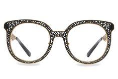 c687f8dd888f BEARCAT Oversized Eyeglasses - Vint & York Glasses Frames, Eye Glasses, Cat  Eye Frames