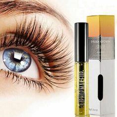 Eyelash Growth Treatments Liquid Eye Lash Serum Makeup Enhancer Longer Thicker for sale online Eyelashes How To Apply, Applying False Eyelashes, Applying Eye Makeup, Longer Eyelashes, Fake Eyelashes, Permanent Eyelashes, Eyelash Serum, Eyelash Growth, Eyelash Enhancer