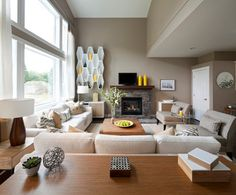 Mid-Century Modern Suite, Hampstead - contemporary - living room - vancouver - i3 design group