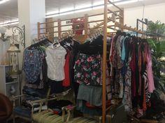 Clothing rack display....