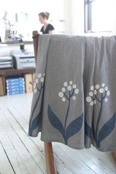 Lotta Jansdotter stencil skirt