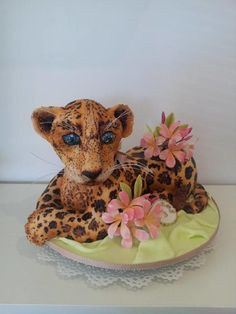 A big cat for my big boy turning 3 - Cake by Bistra Dean