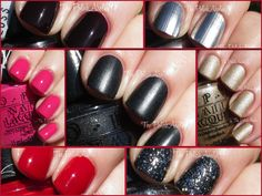 OPI Gwen Stefani Collection Swatches