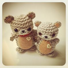 Little Bears amigurumi made to order