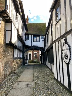 Rye, East Sussex. England.