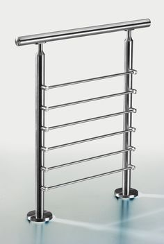 stainless steel railing for stair and deck Steel Railing Design, Staircase Railing Design, Interior Stair Railing, Balcony Railing Design, Iron Stair Railing, Pipe Railing, Balustrade Inox, Balustrades, Stainless Steel Stair Railing