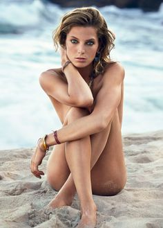 Daria Werbowy by Patrick Demarchelier for Vogue Spain, July 2013