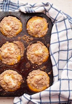 Because pumpkin rolls will kick your baking butt. Get all the same flavors in these pumpkin cupcakes with cream cheese filling without the work and worry.
