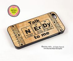 Talk Nerdy to me periodic table on wood background by naturapicta, $19.99 © NATURA PICTA All Rights Reserved.