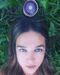 #yuliart #YuliaArtDots #paintedstone #dots #mandala #rock #stone #myart #artpeople #earth #natureart # by yuliart.dots
