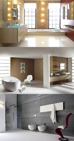 Contemporary Bathroom Design - http://interiordesign4.com/contemporary-bathroom-design/