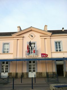 Gare SNCF d'Auray à Auray, Bretagne