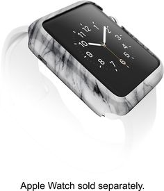 X-Doria - Revel Case for 38mm Apple Watch™ - Marble, 446259