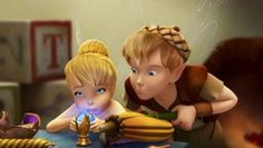 Terence trying to help Tinkerbell build the Autumn Scepter isn't quite as helpful as he expected.