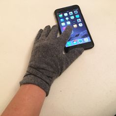 A personal favorite from my Etsy shop https://www.etsy.com/listing/257332286/touch-screen-gloves-for-women-with