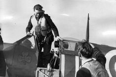 """Graham O'Reilly  """"This is it, chaps"""" - Final words of RAF's youngest Wing-Commander Brendan """"Paddy"""" Finucane, Dublin-born fighter ace Air Force Aircraft, Fighter Aircraft, Cienfuegos, Irish Culture, Supermarine Spitfire, O Reilly, Battle Of Britain, Fighter Pilot, Nose Art"""