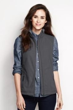 Women's Updated Marinac Vest from Lands' End