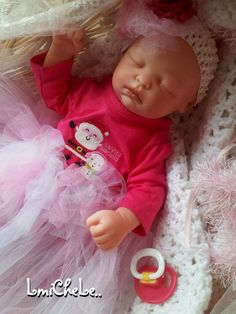 Secrist Preemie Zoe Reborn Baby Doll 17 inch  Baby Tiffany