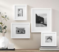Pottery Barn's picture frames bring stylish solutions to any space. Find picture frames in wood, silver and brass finishes and create a personalized gallery wall. A Frame Cabin, Office Walls, Rustic Design, Frames On Wall, Decoration, Rustic Wood, Pottery Barn, Picture Frames, Wall Decor