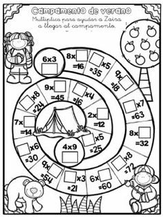 Math Fractions Worksheets, Place Value Worksheets, English Lessons For Kids, School Subjects, Math For Kids, Happy Kids, Teaching Math, Learning Activities, Mental Calculation