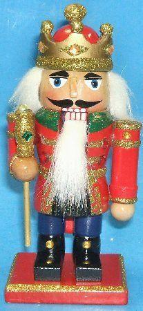 Wooden Mini King Christmas Nutcracker