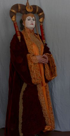 Queen Amidala Costume, Concept Art, Princess Zelda, Costumes, Orange, Artwork, Fictional Characters, Conceptual Art, Work Of Art