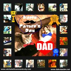 Cat Chat With Caren And Cody: Happy Father's Day To the BEST Dad EVER!!