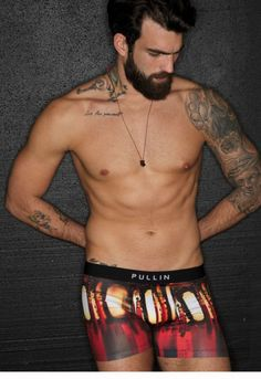 Pullin: Master Quest, a snug-fit print boxer, has rounded seams at the back for a more shapely bottom. The elastic waistband features the Pullin logo at the front and a woven pinch label at the back. Made in France, this style is made of 87% polyester and 13% spandex Lycra. Men's Undies, Underwear, Snug Fit, Boxer, Insight, Label, Spandex, Lingerie, France