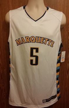Marquette Golden Eagles Jersey Womens Large Team Nike Jordan #5 #Nike #MarquetteGoldenEagles