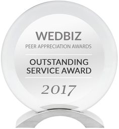 WEDBIZ Outstanding Service Award 2017