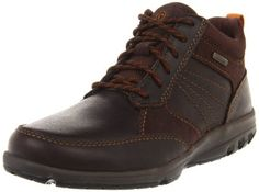 Rockport Men's Adventure Ready Mid Boot Rockport. $57.74. leather; Rubber sole; Padded collar for comfort; Mesh provides enhanced breathability and drying; Strobel Construction for forefoot flexibility to aid the walking motion; Hydroshield waterproofing technology built into the full grain leather with seam sealant to keep feet dry; Ethylene vinyl acetate provides lightweight shock absorption to reduce foot and leg fatigue