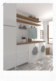 Laundry Room Bathroom, Modern Laundry Rooms, Laundry Room Layouts, Laundry Room Remodel, Laundry Room Organization, Bathroom Small, Laundry Decor, Laundry Room Design, Laundry Room Inspiration