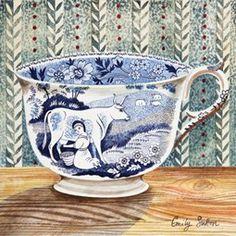 Victorian Crockery 'Milkmaid' Emily sutton