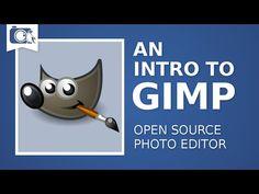 An Intro to GIMP   GIMP Tutorial #01 - YouTube