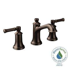 Dartmoor 8 in. Widespread 2-Handle Bathroom Faucet in Oil Rubbed Bronze (Valve Not Included)
