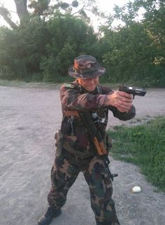 Hungarian soldier. Military Shop