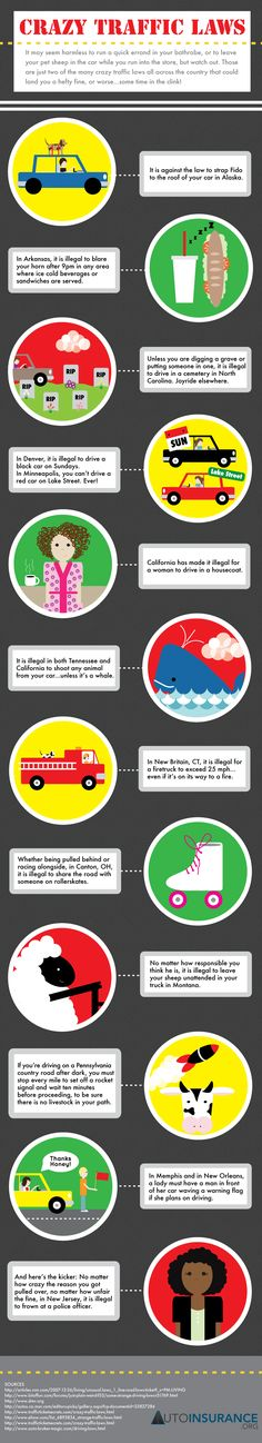 12 Crazy Traffic Laws You Definitely Didn't Know About