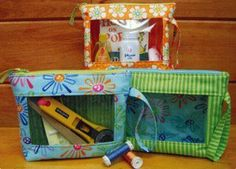"A pattern by Stitchin Sisters, ""What's in your Bag?"""