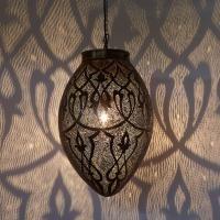 Orientalische Lampe Afifa  #OrientalischeLampe #Marokkanischelampe #Silberlampe #Casamoro #Marrakesch #Orient