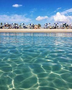 Spiaggia del #Poetto #Cagliari #Sardinia #Cerdeña