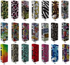 Vapoplans: Stickers pour box Kangertech Subox Mini - 3,40€ fd...