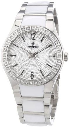 #ceramicwatches #festinaautomatic #festinawatches #festinawatchesprices #whiteceramicwatch Women's Watch Festina F16657/1 Ceramic and Stainless Steel Check https://www.carrywatches.com